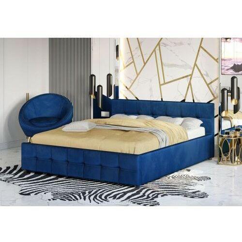 Łóżka, ŁÓŻKO TAPICEROWANE 140X200 SFG004 WELUR #77