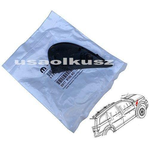 Zaślepki elementów karoserii, Zaślepka prawego błotnika przedniego Dodge Journey