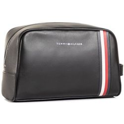 Kosmetyczka TOMMY HILFIGER - Fine Leather Washbag AM0AM06410 BDS