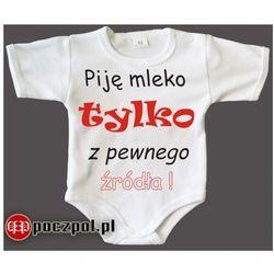 Piję mleko tylko z pewnego źródła - body niemowlęce