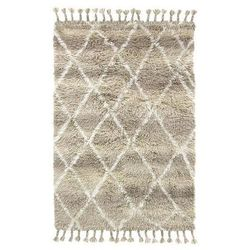 HK Living:: Wełniany dywan berberyjski naturalny (120x180)
