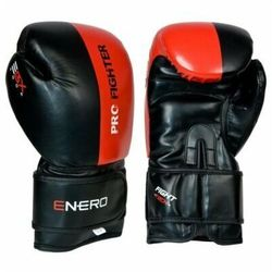 Rękawice bokserskie ENERO Pro Fighter (rozmiar 10oz) Czarno-czerwony