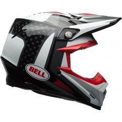 BELL MOTO-9 FLEX VICE BLACK/WHITE Kask off-road
