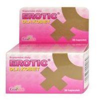 Leki na potencję, Erotic, kapsułki dla kobiet, 20 sztuk
