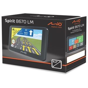 Nawigacja samochodowa, MIO Spirit 8670 EU