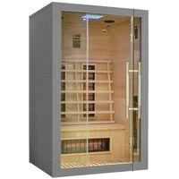 Sauny, Sauna infrared z koloroterapią EA2R Grey