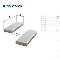 Filtr kabinowy K 1227A-2x