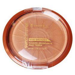 Rimmel Sun Shimmer Maxi Bronzer puder brązujący odcień 004 Sun Star 17 g