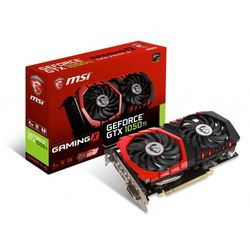 MSI GeForce GTX 1050 Ti Gaming X 4G DDR5 128BIT DVI-D/HDMI/DP [GTX 1050 TI GAMING X 4G]