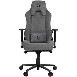 Arozzi fotel na kółkach Vernazza Soft Fabric, szary (VERNAZZA-SFB-ASH)