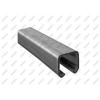 Przęsła i elementy ogrodzenia, Profil do bramy przesuwnej Zn, 33x34x2mm, L6m