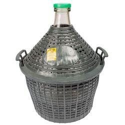 Balon do wina 10 l w koszu plastikowym BROWIN 644010