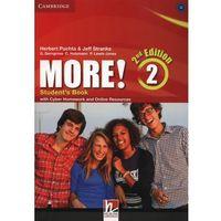 Książki do nauki języka, More! 2 Second Edition. Podręcznik + Cyber Homework + Online Resources (opr. miękka)