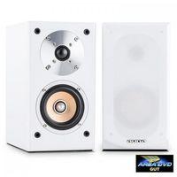 Kolumny głośnikowe, Auna Linie 501 BS-WH Kolumna regałowa 100W pasywna biała