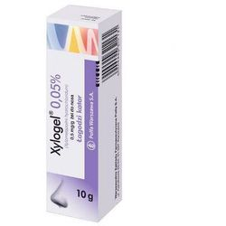 XYLOGEL 0,05% żel do nosa 10g