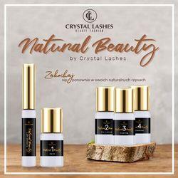 """Zestaw do Laminacji Rzęs """"Natural Beauty"""" by Crystal Lashes"""