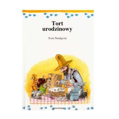 Książki dla dzieci, Tort urodzinowy - Sven Nordqvist (opr. twarda)