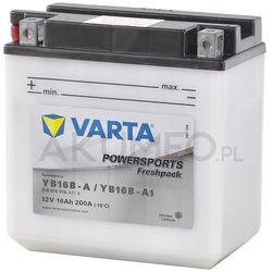 Akumulator VARTA Powersports YB16B-A 12V 16Ah 200A lewy+ oL