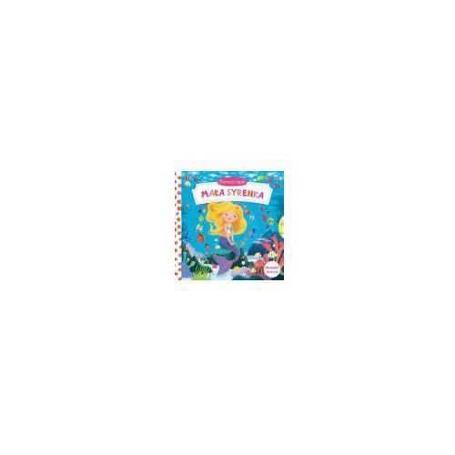 Książki dla dzieci, Pierwsze bajki. Mała Syrenka. Pociągnij-Przesuń - Praca zbiorowa (opr. kartonowa)