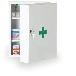 Metalowa apteczka pierwszej pomocy z wkładem DIN13169