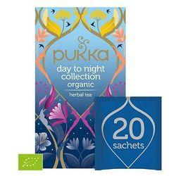 DAY TO NIGHT COLLECTION BIO 20 SASZ. - kolekcja 5 rodzajów herbat
