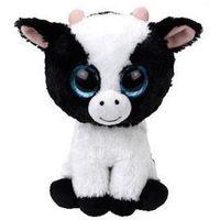 Pluszaki zwierzątka, Maskotka TY INC Beanie Boos Butter- Krowa 15cm 36841