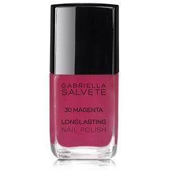Gabriella Salvete Longlasting Enamel lakier do paznokci 11 ml dla kobiet 30 Magenta