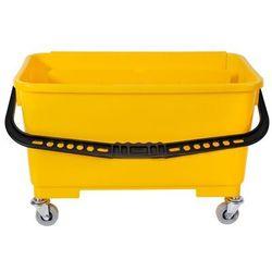 Wózek do mycia okien z wyciskaczem 22 litry Wiaderko do mycia szyb z wyżymaczką