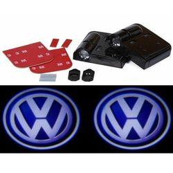 LED Logo VW Projektory drzwi HD Bezprzewodowe