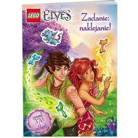 Książki dla dzieci, LEGO ELVES ZADANIE NAKLEJANIE LAS-501 + zakładka do książki GRATIS (opr. miękka)