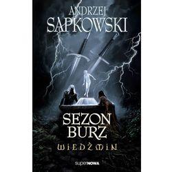 SEZON BURZ WIEDZMIN (przedsprzedaż. wys. 06.11.2013) (opr. broszurowa)