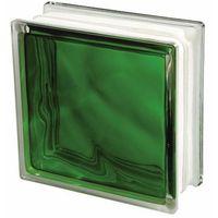 Cegły i pustaki, Pustak szklany Seves 1908 WGR zielony