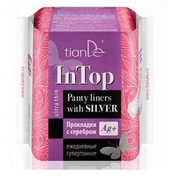 TianDe Wkładki higieniczne ze srebrem na co dzień ultracienkie 65512