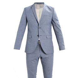 Selected Homme SHDONE MYLOALLEN CHECK SUIT Garnitur medium blue melange
