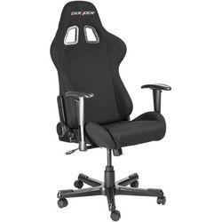 DXRacer krzesło obrotowe Formula FD01/N, tkanina, czarne (FD01/N)