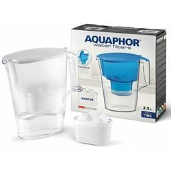 Aquaphor Dzbanek filtrujący Time 2,5 l + wkład B100-25 Maxfor (biały)