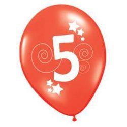 Balony z nadrukiem 5 - 30 cm - 12 szt.