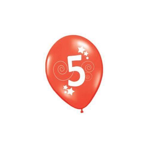 Balony, Balony z nadrukiem 5 - 30 cm - 12 szt.