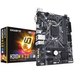 Gigabyte Plyta główna H310M H 2.0 s1151 2DDR4 VGA/HDMI/USB 3.1 micro ATX
