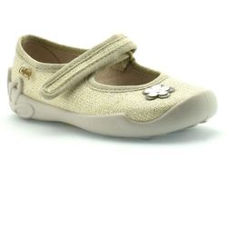 Kapcie dla dzieci Befado 114X288 Blanca - Złoty ||Beżowy