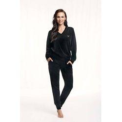 Dres damski homewear luna 306 dł/r s-2xl rozmiar: xl, kolor: czarny/nero, luna