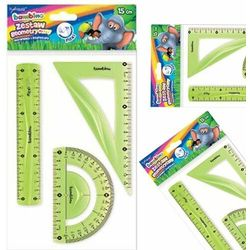 Zestaw geometryczny 3 części 15 cm bambino flexi