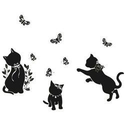 Naklejka ścienna koty