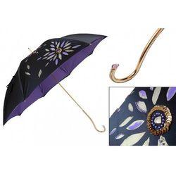 Parasol Pasotti Luxury Hand Painted, podwójny materiał, 344 21284-14 Plat-34 C21