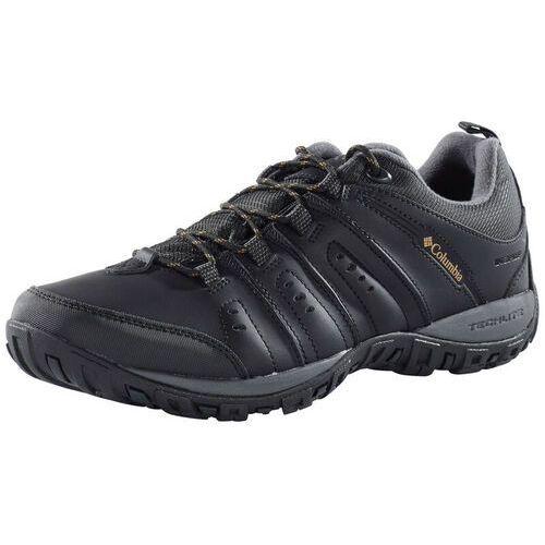 Pozostałe obuwie męskie, Columbia Woodburn II Buty Wodoodporne Mężczyźni, szary/czarny US 10,5   EU 43,5 2021 Buty turystyczne