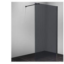 Ścianka prysznicowa MALIKA - 140x200 cm - Szare szkło
