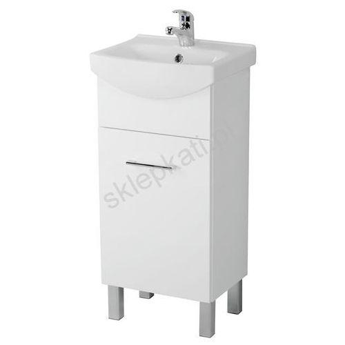 Szafki łazienkowe, CERSANIT OLIVIA Szafka pod umywalkę cersania new 40, biała S543-001-DSM