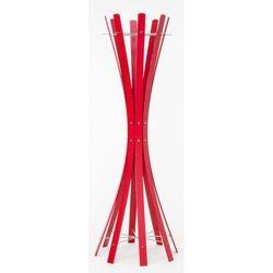 Wieszak na ubrania stojący Keilbach Naomi Grande czerwony