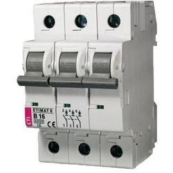Wyłącznik nadprądowy Eti ETIMAT 6 3p 6kA B20 002115517