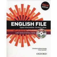 Książki do nauki języka, English File Upper Intermediate. Podręcznik + DVD + Online Skills (opr. miękka)